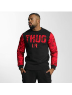 Thug Life Pullover Zombi rouge