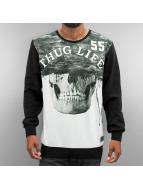 Thug Life Pullover Skull schwarz