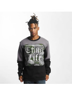 Thug Life New Life Sweatshirt Black