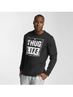 Thug Life Pulóvre Boxlife èierna