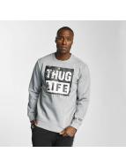 Thug Life Pulóvre Boxlife šedá