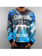 Thug Life Pulóvre Compton modrá