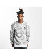 Thug Life Hidden Sweatshirt White Camouflage