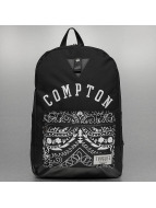 Thug Life Rucksack Compton schwarz