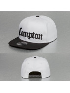Thug Life Snapback Compton biela