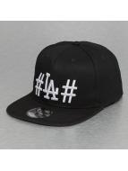 Thug Life Snapback Cap LA black