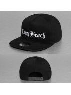 Thug Life Snapback Cap Long Beach schwarz
