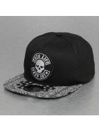 Thug Life Snapback Cap Paisley schwarz