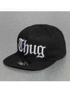 Thug Life Snapback Cap Thug schwarz