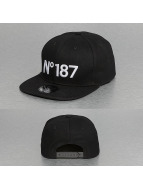 Thug Life Snapback Cap N° 187 schwarz