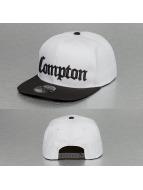 Thug Life Snapback Cap Compton white