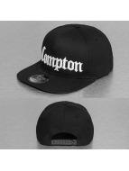 Thug Life snapback cap Compton zwart
