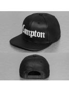 Thug Life snapback cap Compton PU zwart