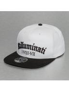 Thug Life Snapback Caps Killuminati hvit