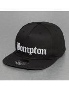 Thug Life Snapback Caps Bompton musta