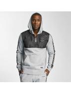 Thug Life Combine Hoody Grey Melange