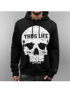 Thug Life Sweat à capuche Thugstyle noir