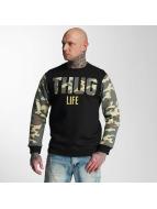 Thug Life Sweat & Pull Zombi camouflage