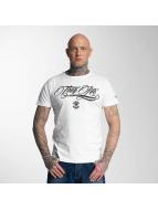 Thug Life T-Shirt Kursiv blanc