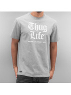 Thug Life T-Shirt Deadking gray