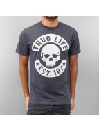Thug Life T-Shirt Logo grey