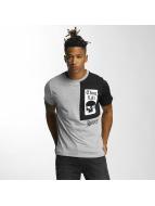 Thug Life t-shirt Qube grijs