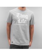 Thug Life T-Shirt Deadking gris
