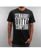 Thug Life T-Shirt Straight Outta Compton noir