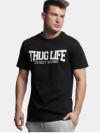 Thug Life T-Shirt Street Boxing noir