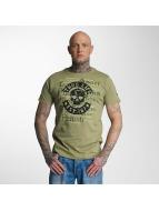 Thug Life T-shirt Violance oliv