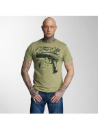 Thug Life T-Shirt No Reason olive