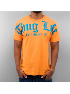 Thug Life T-Shirt Est. 187 orange