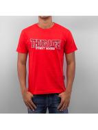 Thug Life T-Shirt Street Boxing red