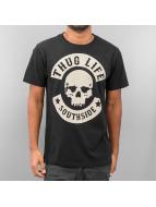 Thug Life T-Shirt Logo schwarz