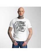 Thug Life t-shirt 187 wit