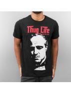Thug Life t-shirt Mafia zwart