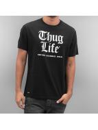 Thug Life T-Shirty Deadking czarny