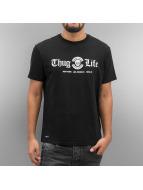 Thug Life T-Shirty Rule czarny