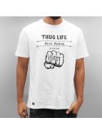 Thug Life T-skjorter Streetfight hvit