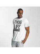 Thug Life T-skjorter Ghost hvit