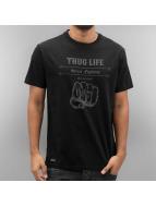 Thug Life T-skjorter Streetfight svart