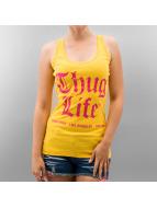 Thug Life Tank Tops NLB keltainen