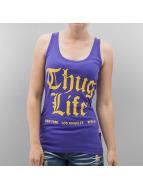 Thug Life Tank Tops NLB violet