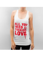 Thug Life Tank Tops All You Need weiß