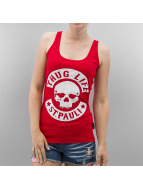 Thug Life Tanktop St. Pauli rood