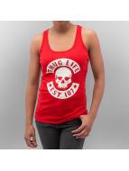 Thug Life Tanktop Skull rood