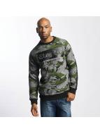 Thug Life THGLFE Sweatshirt Black Camoflage