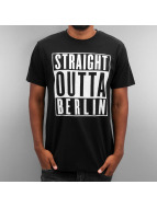 Thug Life Tričká Straight Outta Berlin èierna