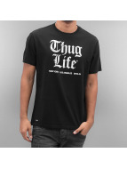 Thug Life Tričká Deadking èierna
