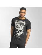 Thug Life Tričká Established 187 èierna